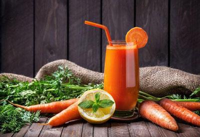 морковный сок для восстановления сил и энергии после болезни