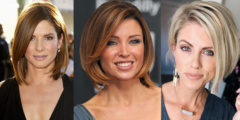 Как выглядеть моложе в 40 лет женщине с помощью прически