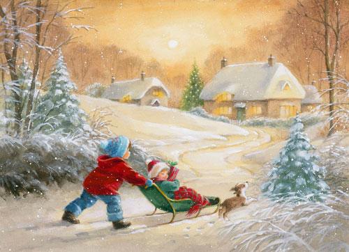 Красивые стихи про зиму для детей 4-5 лет