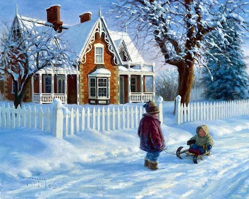 Короткие и красивые стихи про зиму для детей 4-5 лет