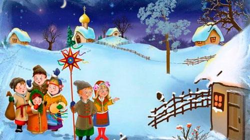 Рождественские колядки для детей 7-9 лет