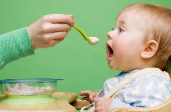 Питание малыша молочными ппродуктами