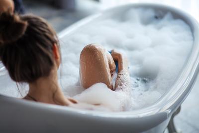 Новогоднее выгорание: ванна