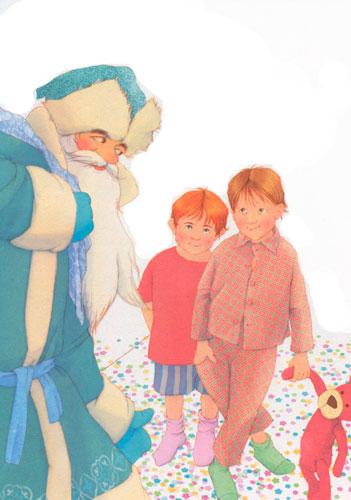 Стих Агнии Барто: В защиту Деда Мороза