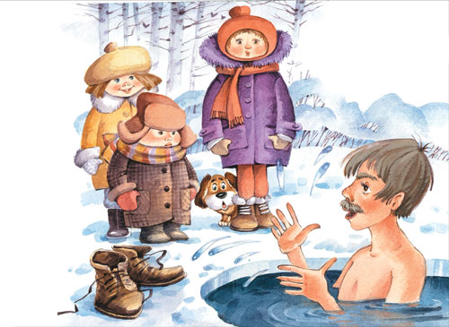 Стих Агнии Барто: Я знаю, где живут моржи