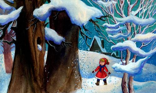 Стих Агнии Барто: За цветами в зимний лес