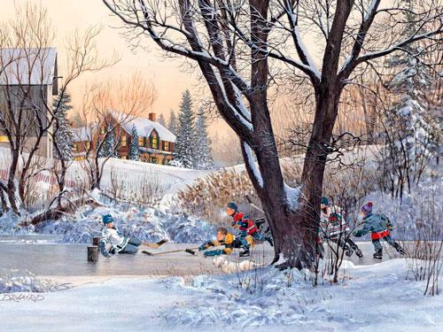 Стихи про зиму для детей 2 лет