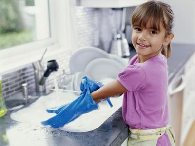 определение обязанностей для самостоятельного ребенка