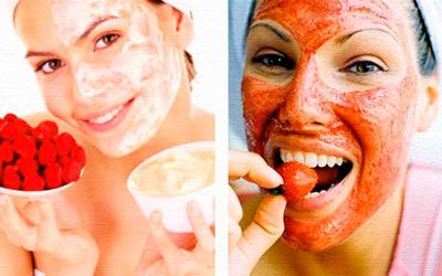 сделать кожу лица идеальной в домашних условиях с помощью маски из ягод