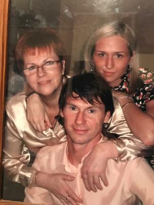 Людмила Титова и Егор и сестра