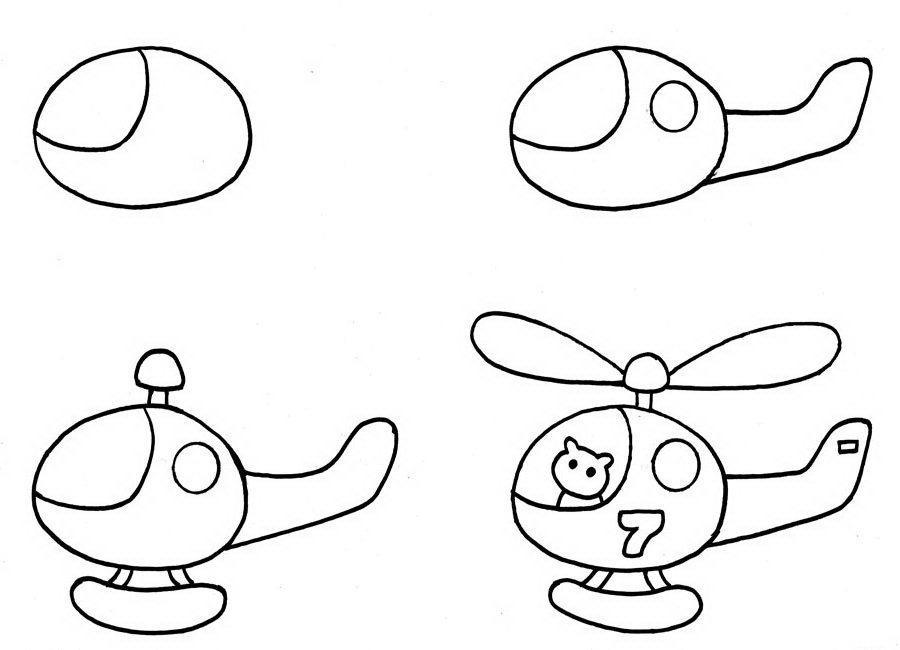 научить ребенка рисовать простые рисунки в 5 лет