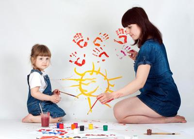 научить ребенка рисовать поэтапно простые рисунки