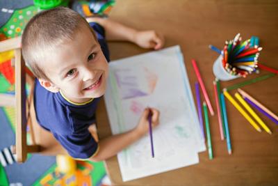 как научить ребенка рисовать простые рисунки