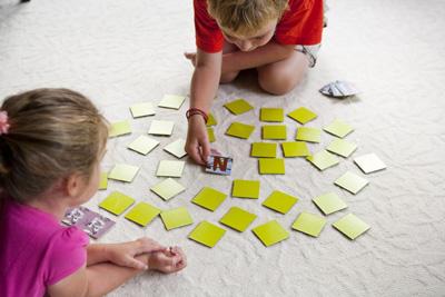 игры и задания для развития памяти и внимания у ребенка