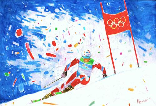 Загадки про зимние виды спорта с ответами
