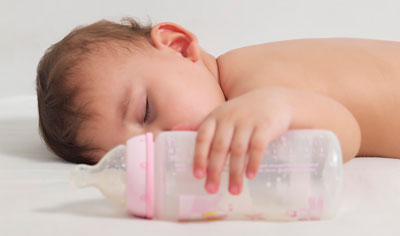 ночные кормления из бутылочки как прекратить