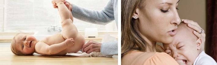 запор у грудничка причины и лечение