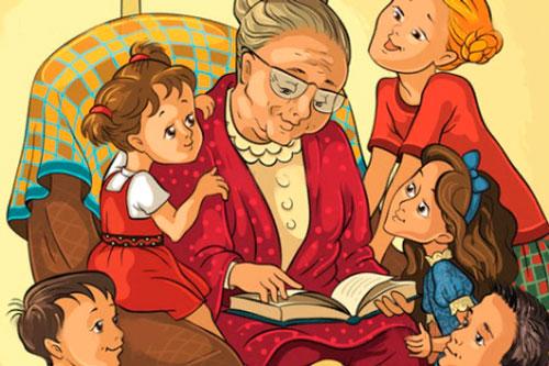 Красивые стихи про бабушку для детей 5-7 лет