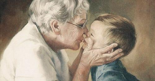 Красивые стихи про бабушку для детей 7-9 лет