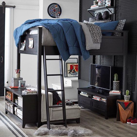 стильная комната подростка 10