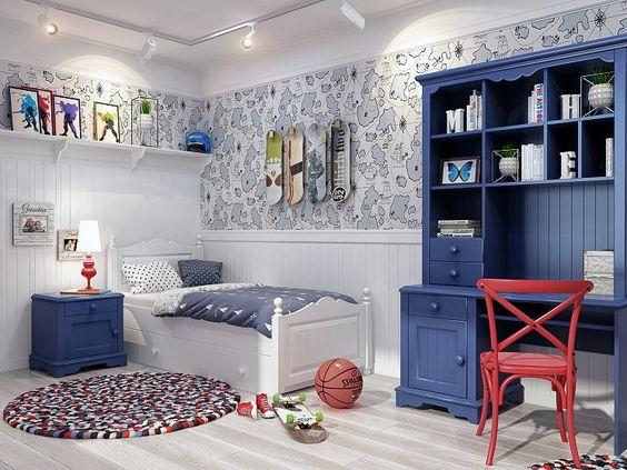 стильная комната подростка 5