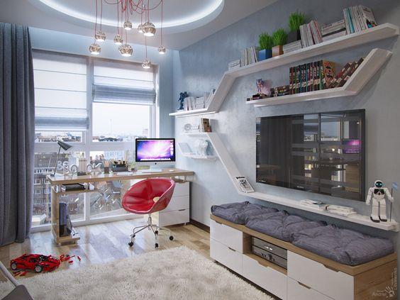 стильная комната подростка 2
