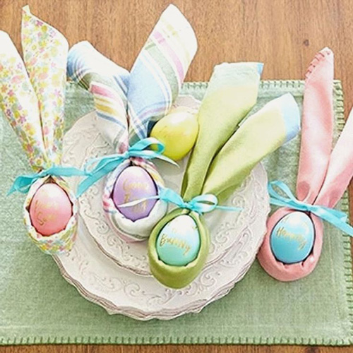 декор яиц салфеткой на Пасху 3