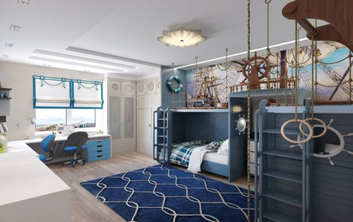 детская комната подростка в современном стиле 2