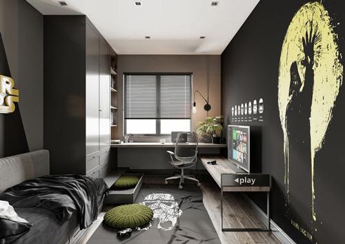 дизайн комнаты подростка 6