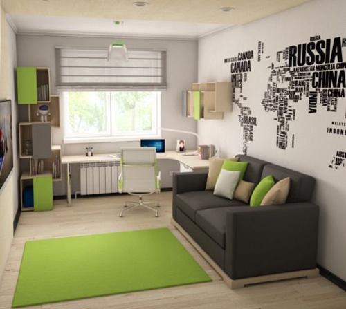 дизайн комнаты подростка 9