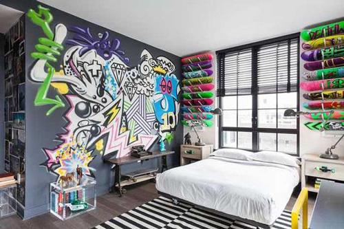 дизайн комнаты подростка 10