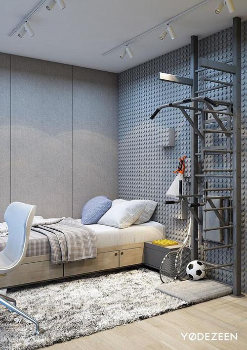 дизайн комнаты подростка в современном стиле 3