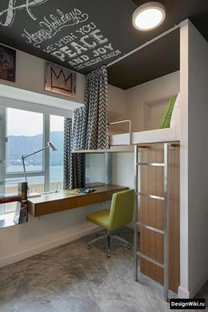 дизайн комнаты подростка в современном стиле 11