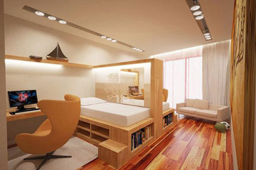 детская комната подростка в стиле модерн