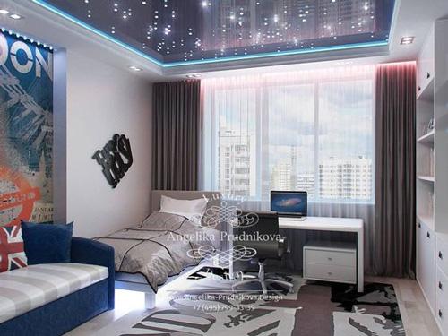 дизайн комнаты подростка девушки 2