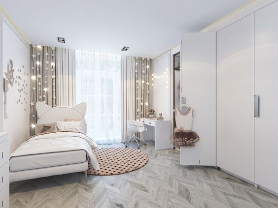 лучшие идеи оформления комнаты подростка девушки романтичная