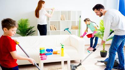 домашние обязанности детей в 5 лет