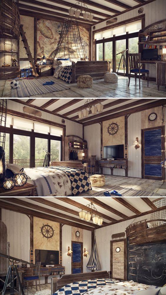 детская комната подростка в современном стиле 3
