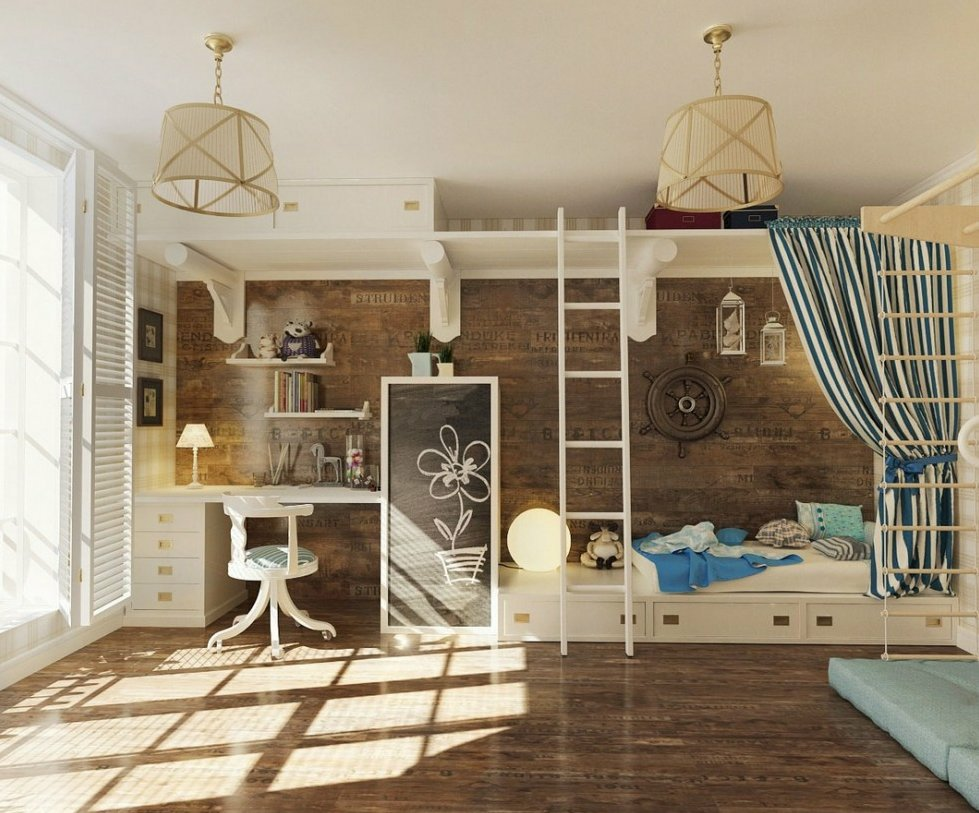 детская комната подростка в современном стиле 4