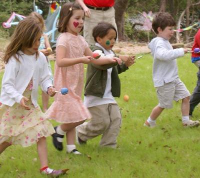 игры на Пасху для детей в школе