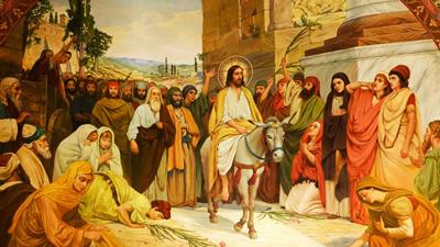история вербного воскресенья для детей