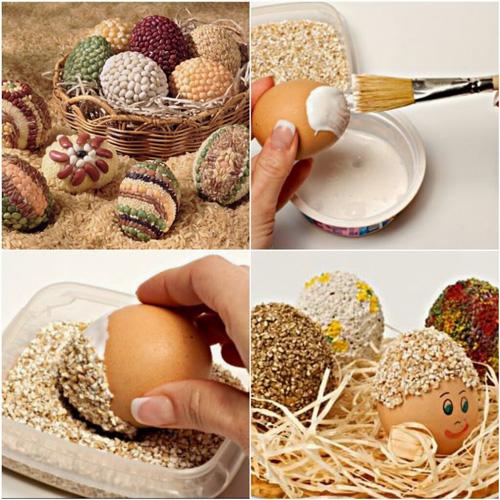почему на Пасху принято красить яйца