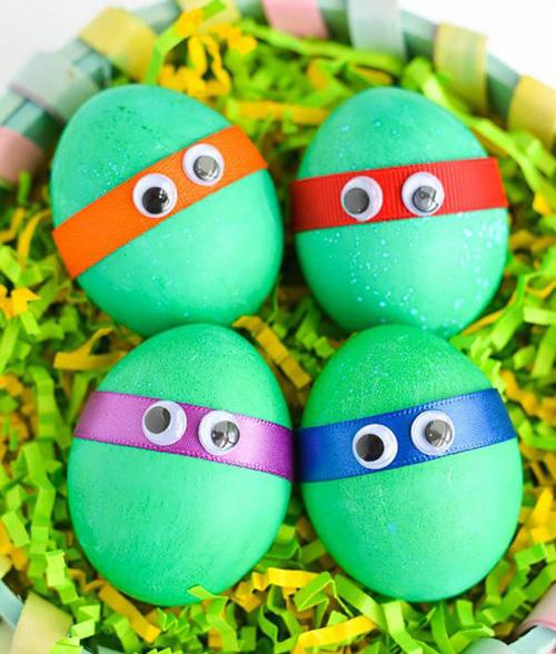как покрасить и декорировать яйца к Пасхе 2