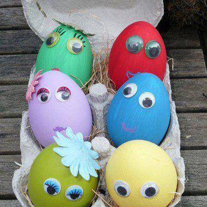 как покрасить и декорировать яйца к Пасхе