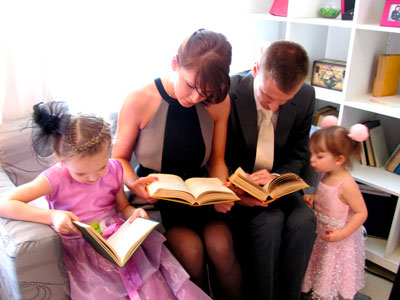 как научить и приучить ребенка читать