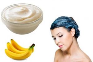 Маска с бананом для восстановления волос