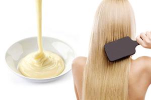 Маска с майонезом для восстановления волос