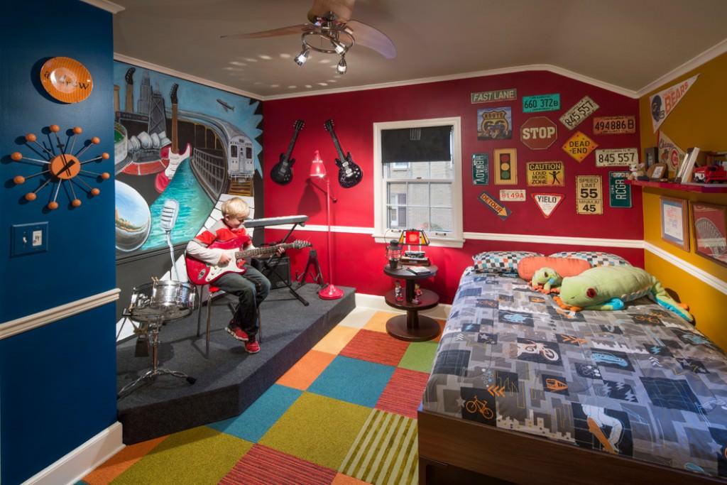 стиль в детской комнате для подростка 6
