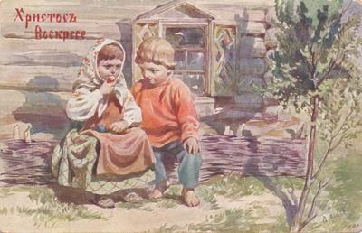традиции Пасхи кратко для детей