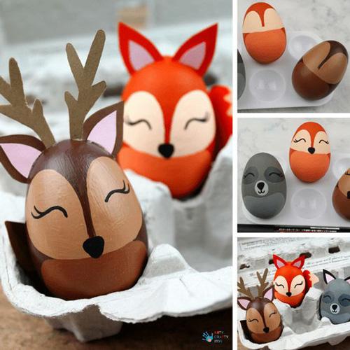 Роспись яиц для детей 1